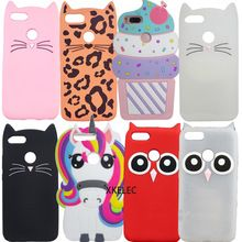 a12d106857 3D Cute Case For Xiaomi Mi A1 Cases Silicone Cartoon Cover For Xiaomi Mi 5x  Case Silicon Cat Owl Horse Coque Unicorn Cover(China)