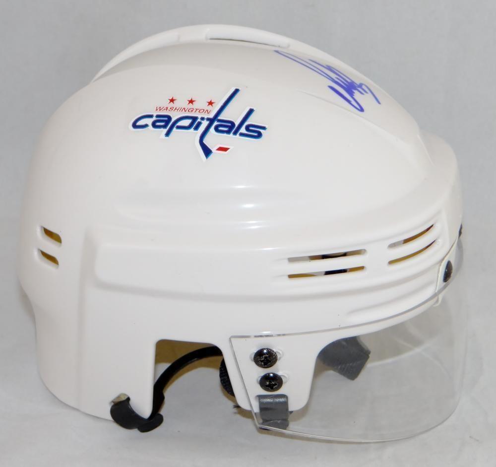 Alexander Ovechkin Autographed Washington Capitals Mini Helmet-JSA Witness  Auth e9c372806