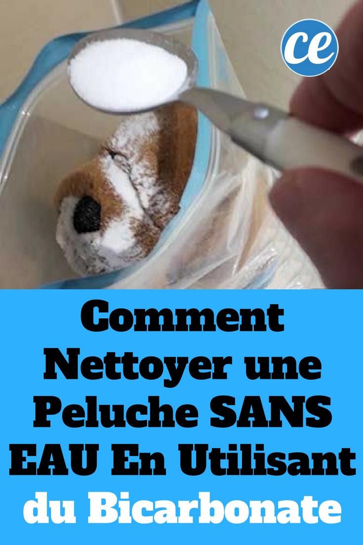Comment nettoyer une peluche sans eau en utilisant que du - Nettoyer canape tissu bicarbonate de soude ...