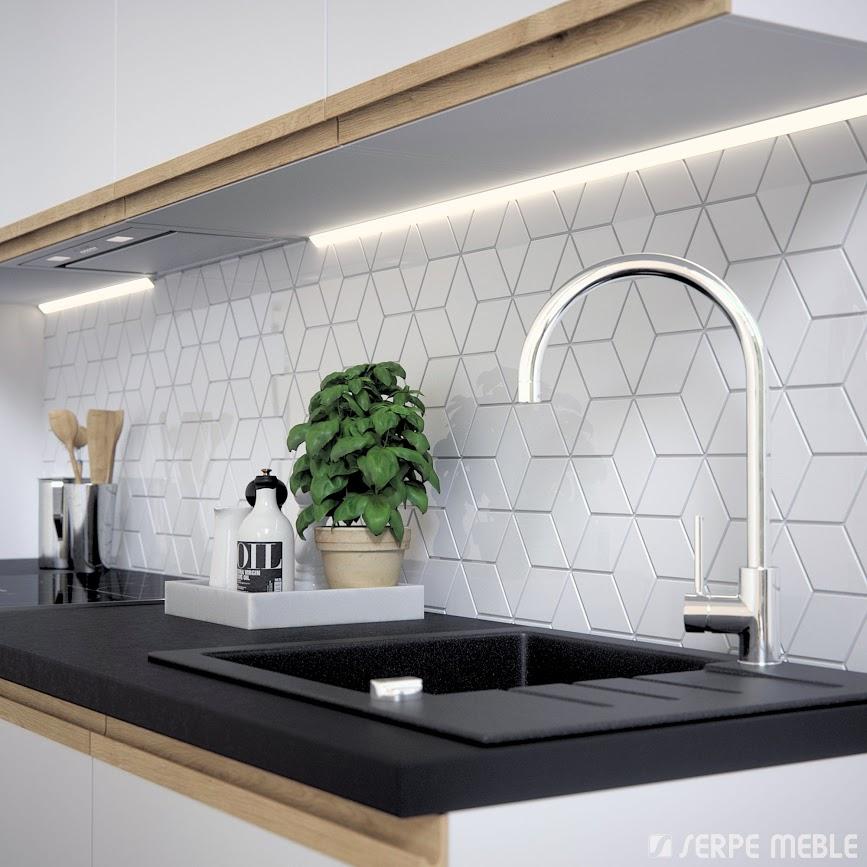 Ladne Kafelki House Design Round Mirror Bathroom Interior Design