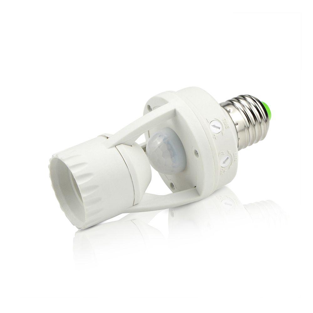 1 Pcs Ac110v 220 V Pir Infrarouge Motion Sensor E27 Led Lumiere