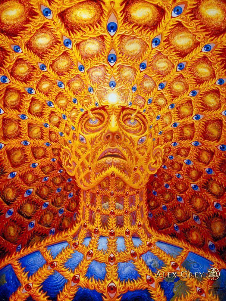 A arte espiritual e psicodélica de Alex Gray | Maktub | Pinterest ...