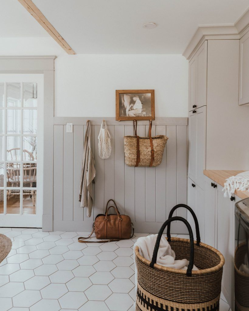 Everything You Want To Know About Our Traditional Farmhouse Laundry Room and Mudroom - The Wild Decoelis