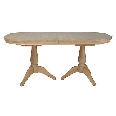 buy neptune henley 6 12 seater rectangular extending dining table rh pinterest co uk