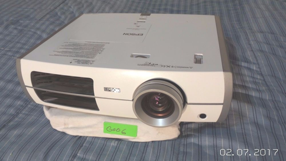 Epson PowerLite Home Cinema 8350 1080p 3LCD Projector High Lamp Hours #Epson