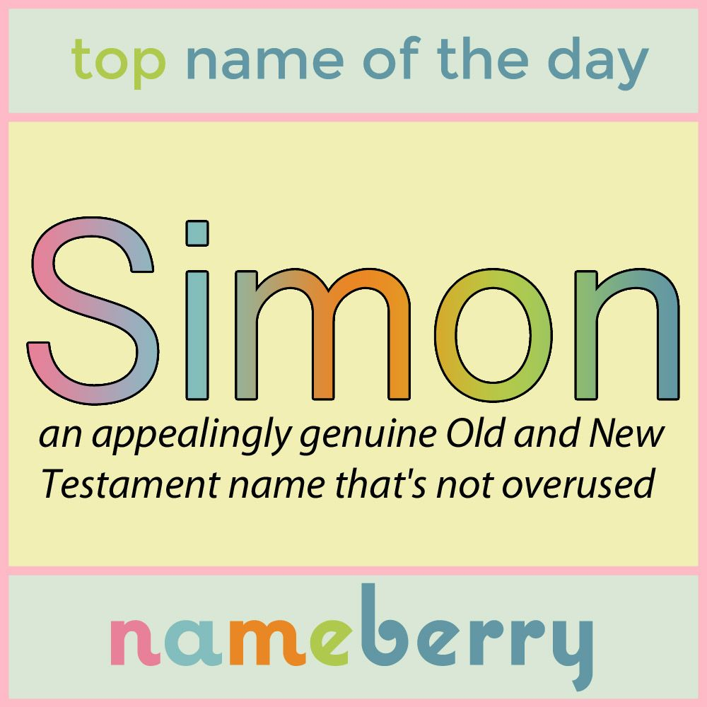 Pin By Nameberry Baby Names On Names Of The Day Unique Baby