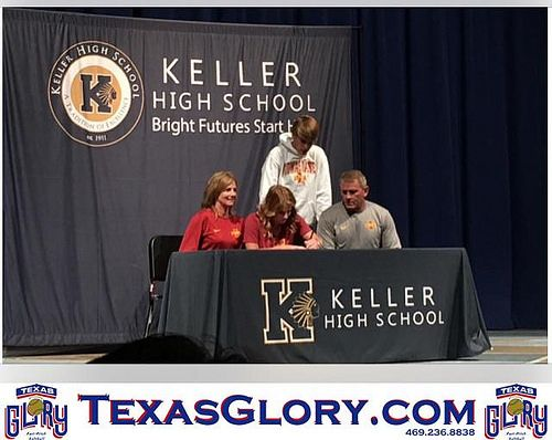Kasey Simpson Instrumental, Iowa and Texas - national letter of intent