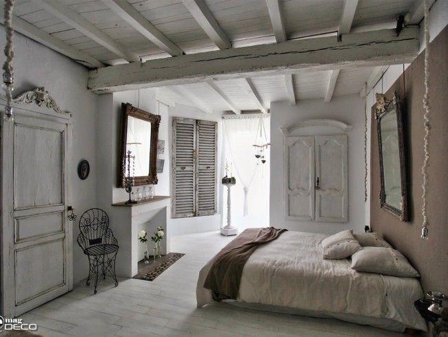 r novation deco chambre avec meubles anciens chambre pinterest meubles anciens deco. Black Bedroom Furniture Sets. Home Design Ideas