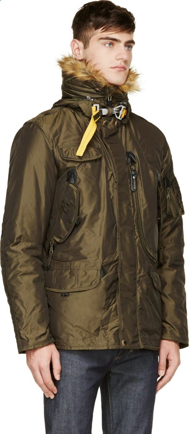Parajumpers Olive Green Right Hand Eco Jacket