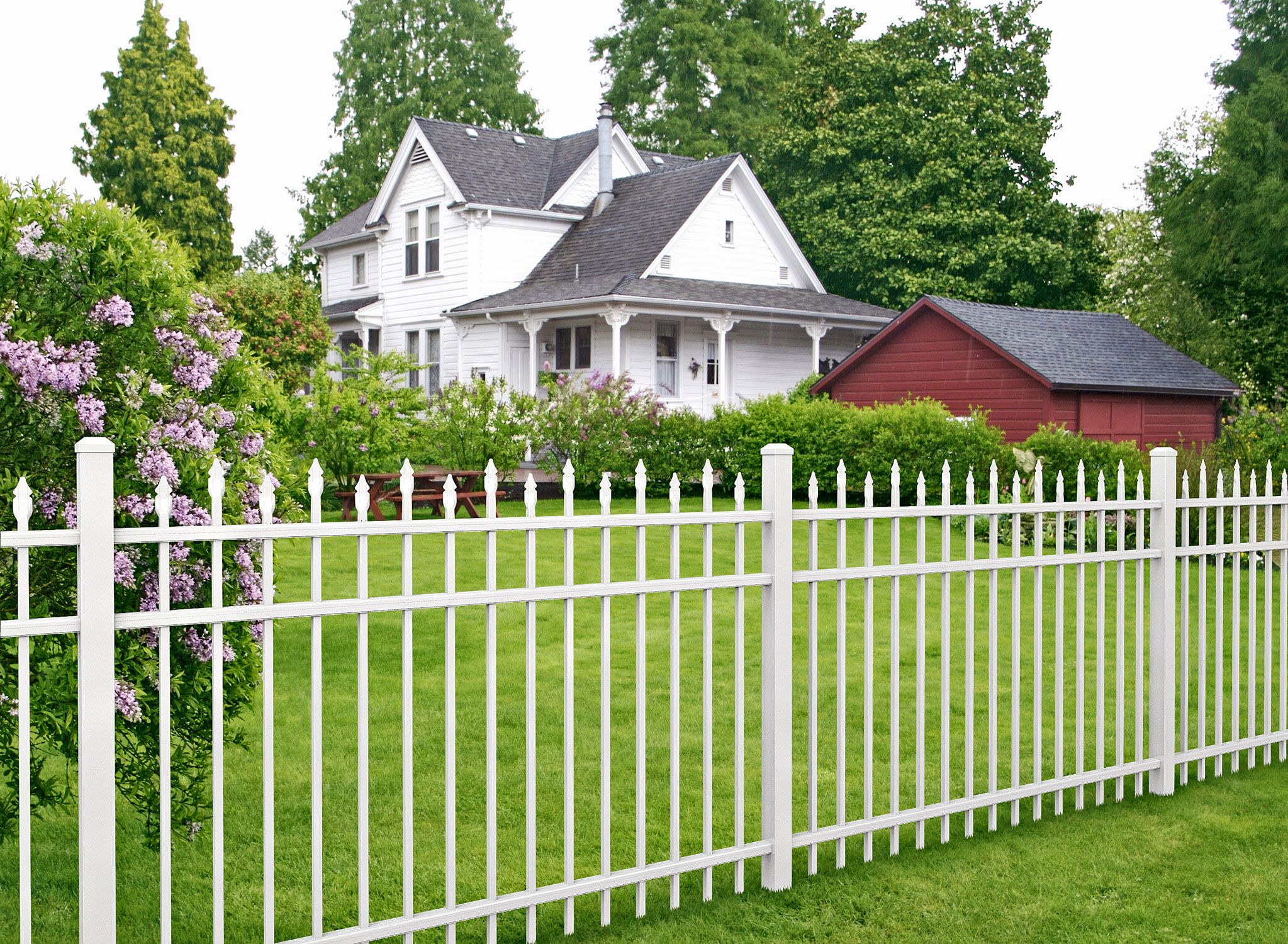 60 Best Ideas For Different Types Of Garden Fence Panels Backyard Fences Fence Landscaping Garden Fence Panels
