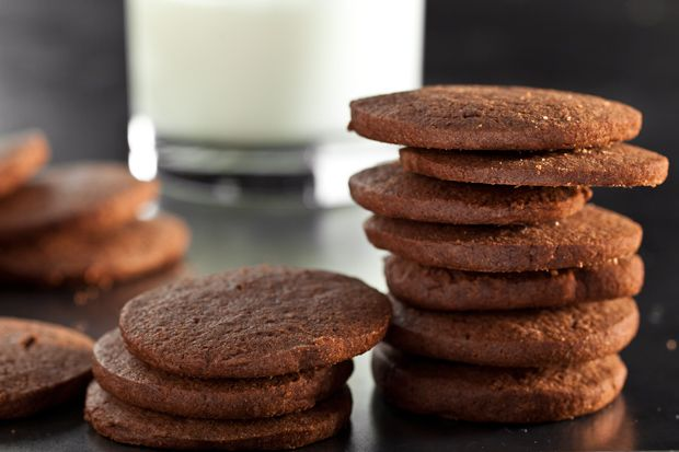 Mexican Chocolate Slice-and-Bake Cookies Recipe