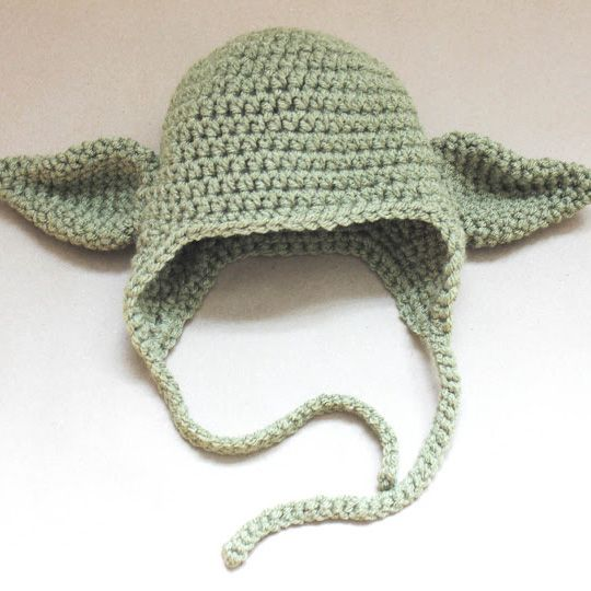 Bretty said he would love one of these p repeat crafter me repeat crafter me crochet yoda hat partially free part you have to purchase as its a mix of two patterns dt1010fo
