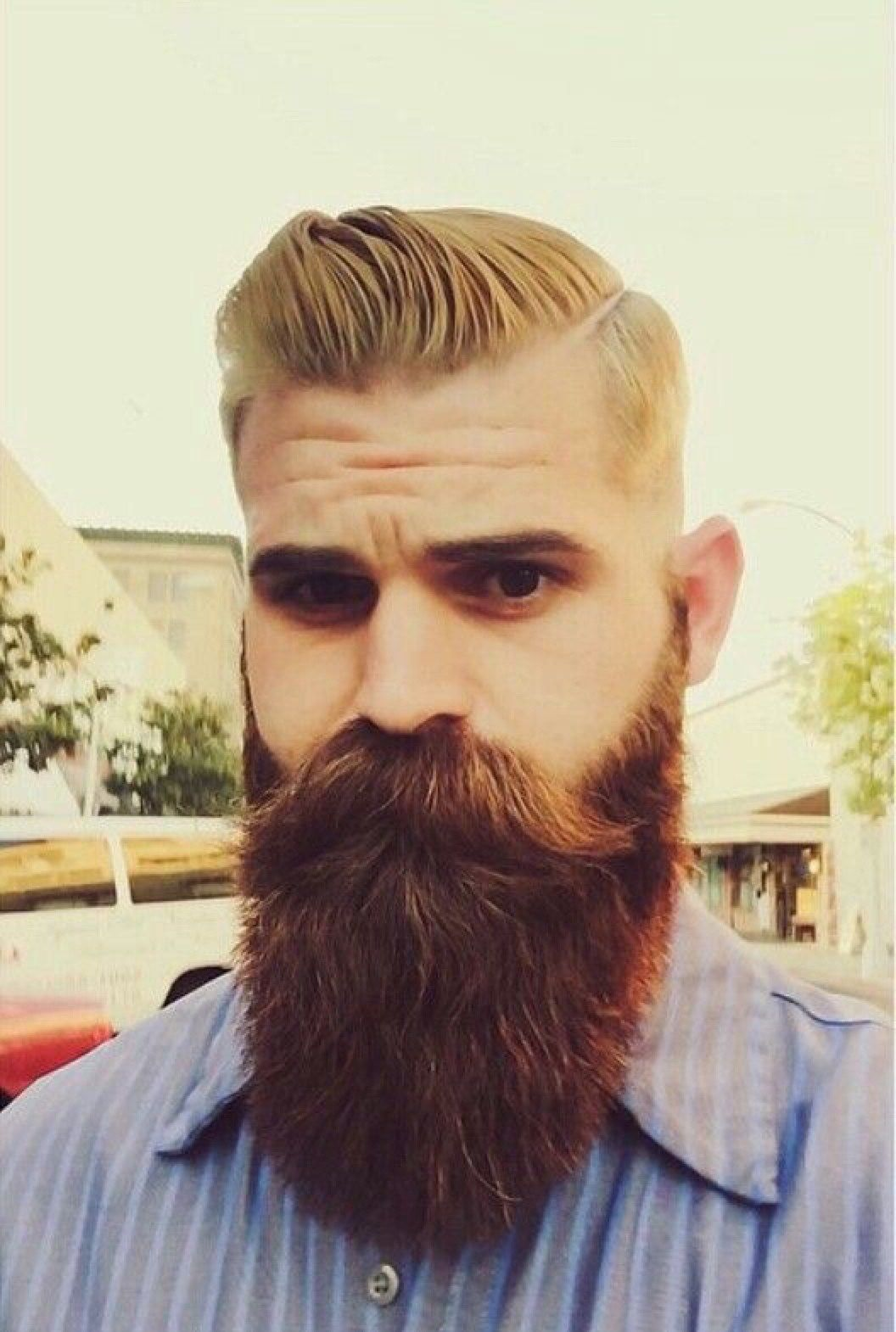 5 Hairstyles For The Aggressive Beard Styles Beard Beard Styles