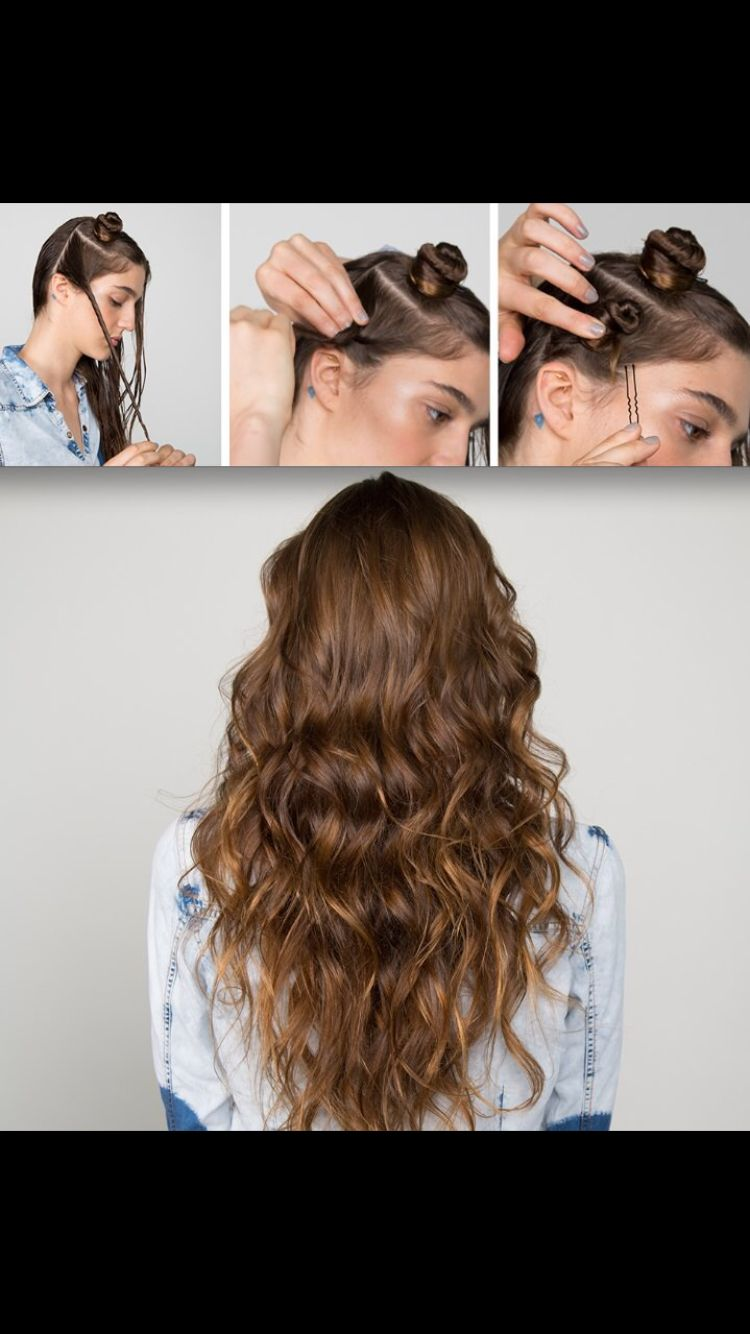 Beach curls  Tips  Pinterest  Hair Hair styles and Beach wave hair