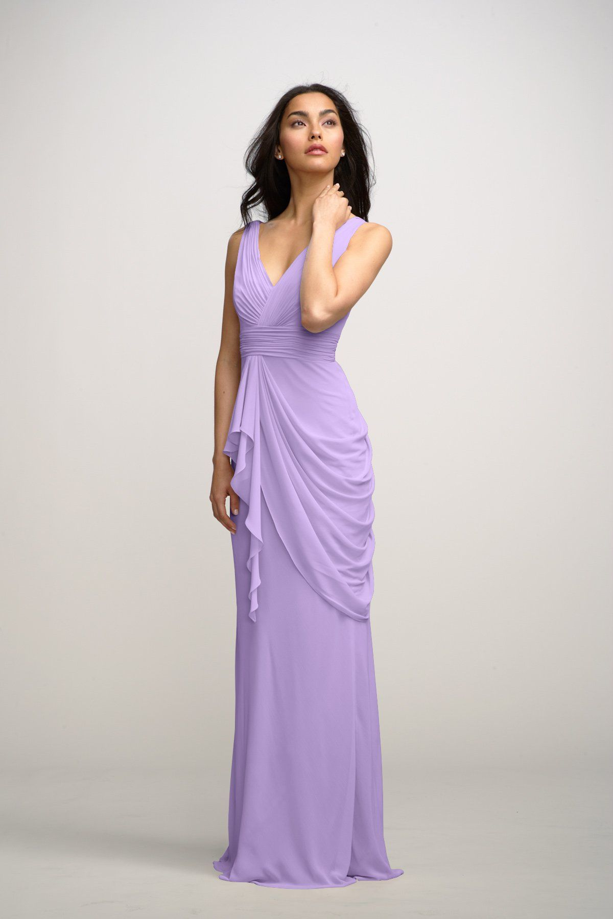 Watters Maids Dress Violet | Bridal Closet | Pinterest