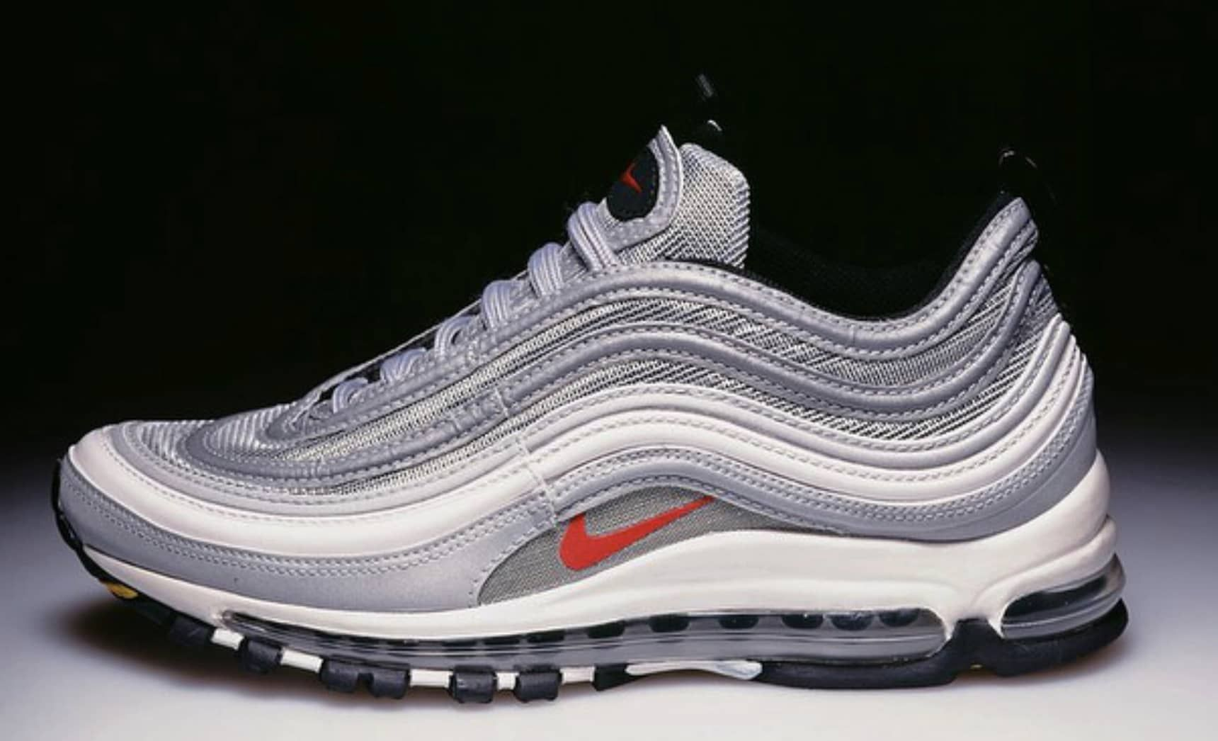 Nike Air Max 97 Designer Christian Tresser Shows Original  Silver Bullet   Sample  30e82ef2f