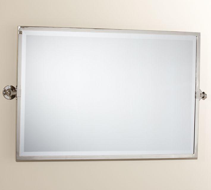 Kensington Pivot Rectangular Mirror Bathrooms Mirror
