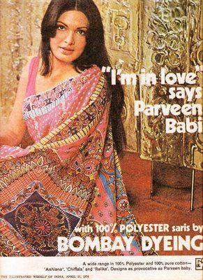 Bombay Dyeing consistently produced  seductive advertising.