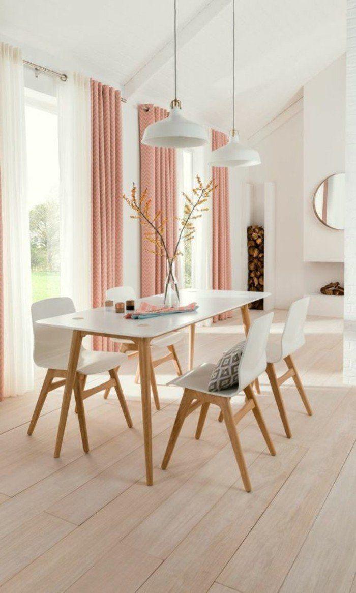 Pingl sur rose - Rideaux salle a manger salon ...