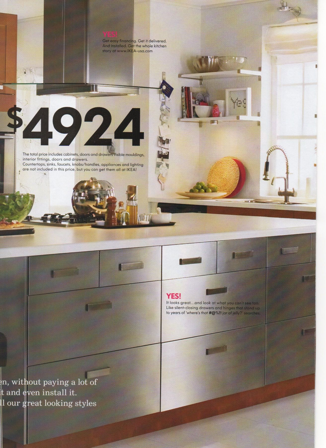 Chrome Cabinets Ikea Kitchen Ikea Kitchen Kitchen Dinning
