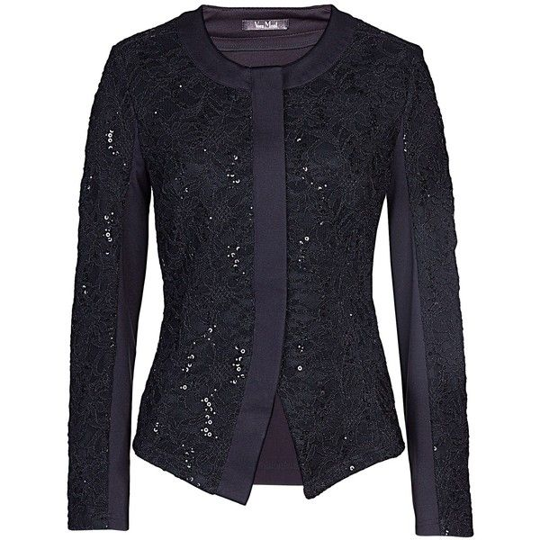 50% price 50% price dirt cheap Vera Mont Lace and sequin jacket with plain back ($79) found ...