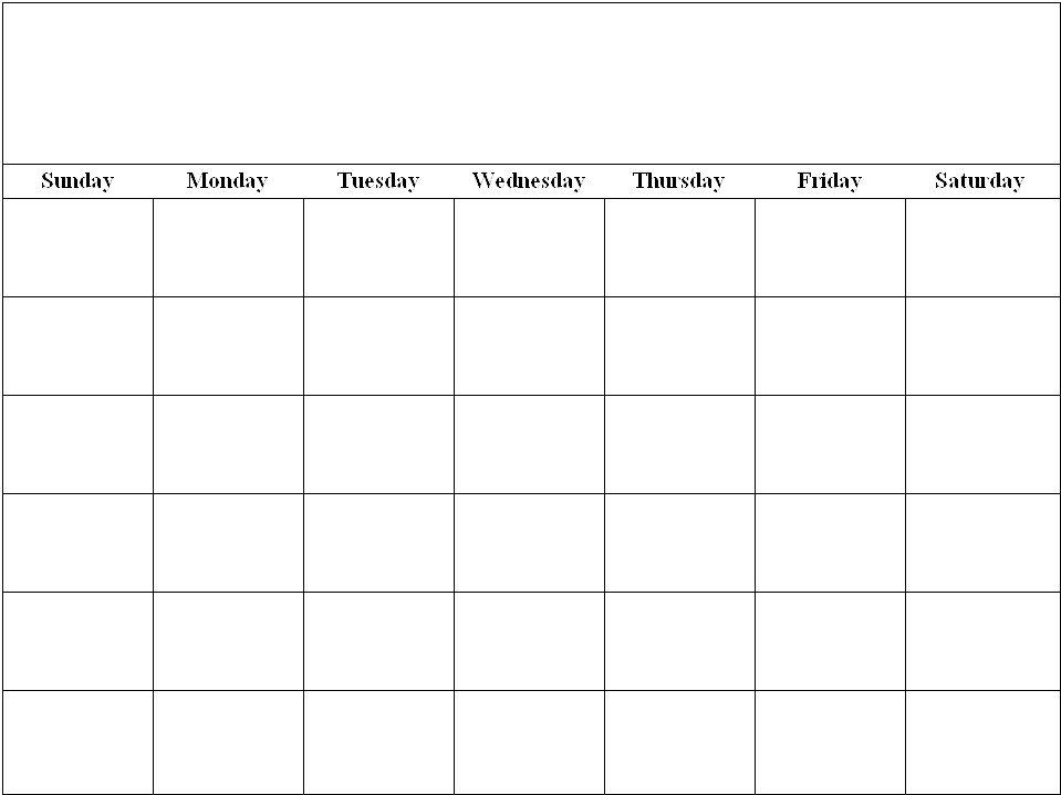 12 x 12 calendar template