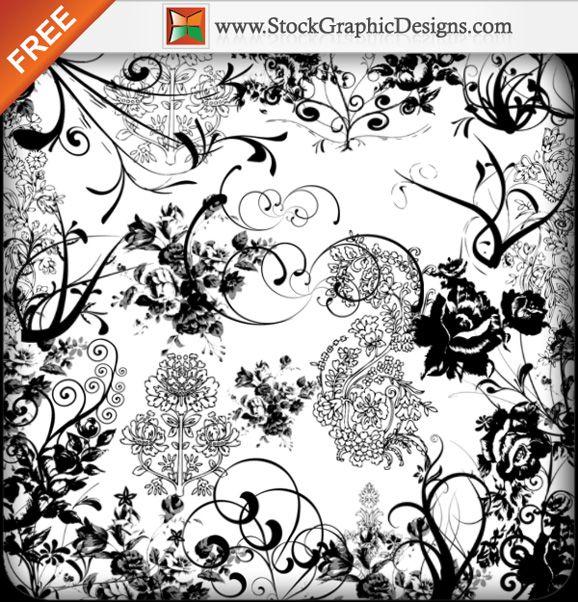 Ornament Free Photoshop Brush Pack | Wedding | Photoshop