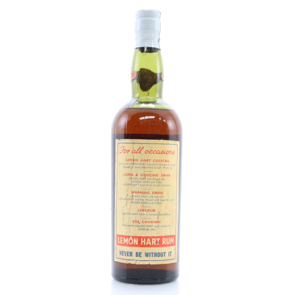 Lemon Hart The Golden Spirit Rum 1947 Whisky Auctioneer