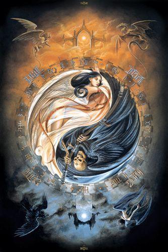 Pour Le Plaisir Reve Magie Gothique L Art De Yin Yang Les Arts Art Fantastique