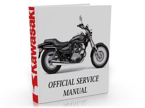 kawasaki eliminator bn125 bn 125 complete service manual repair rh pinterest com kawasaki eliminator 250 workshop manual Kawasaki Eliminator 125