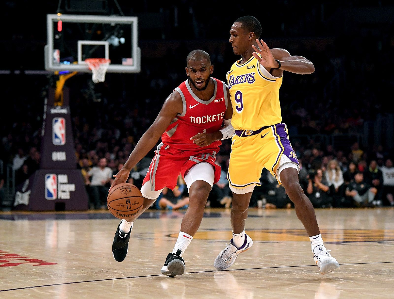 Los Angeles Lakers Report Was Rajon Rondo Telling Truth About Chris Paul Los Angeles Lakers Chris Paul Lakers