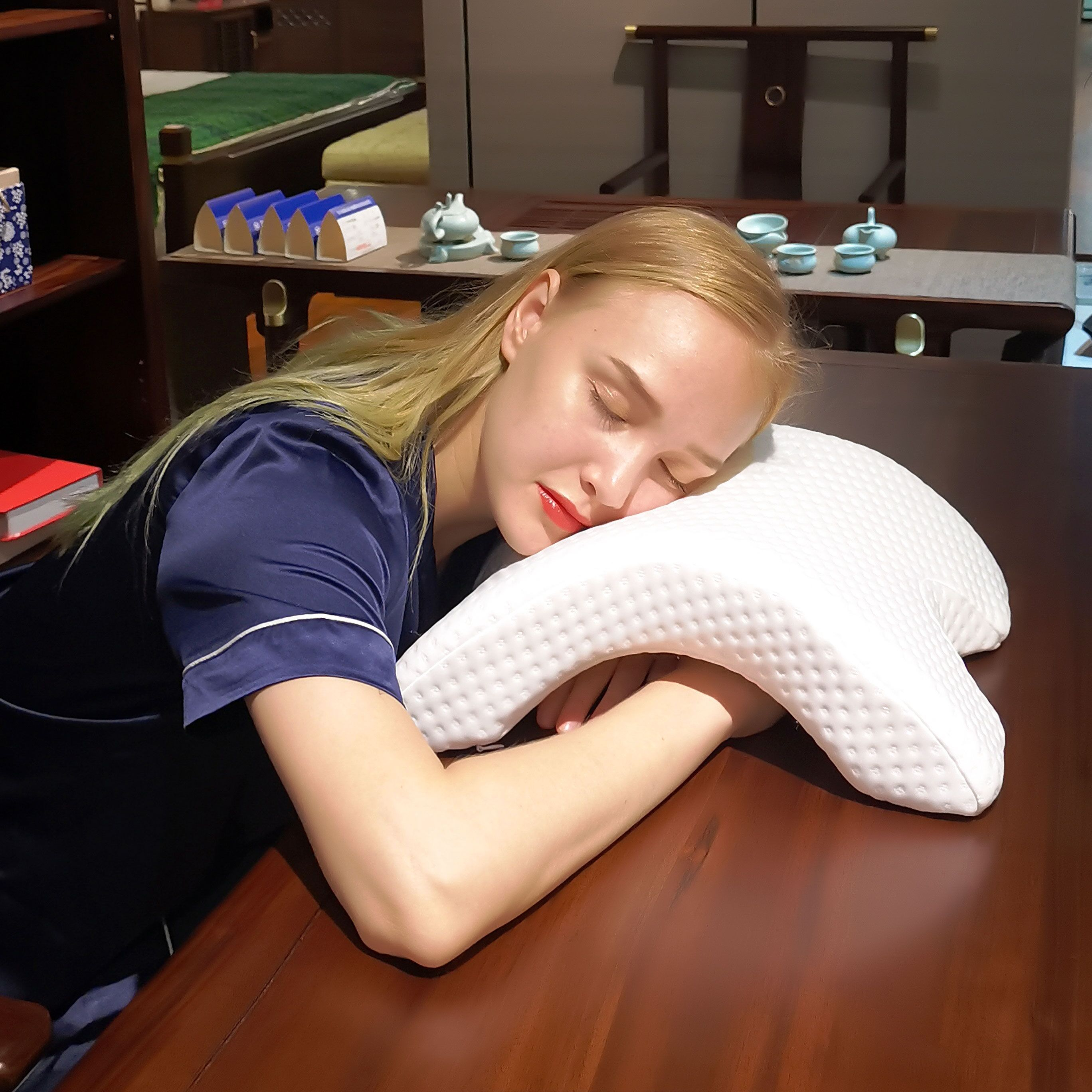 Best Cuddle Pillow for Couples, Couple Pillow, Side