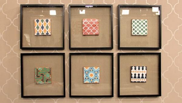 DIY Moroccan Tile Art - Add color and pattern to your walls by ...