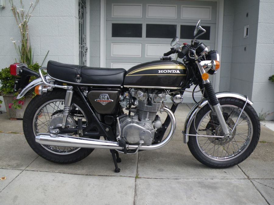 Good Link To Many Great Mid 70s Bike Pics 1973 Honda CB450