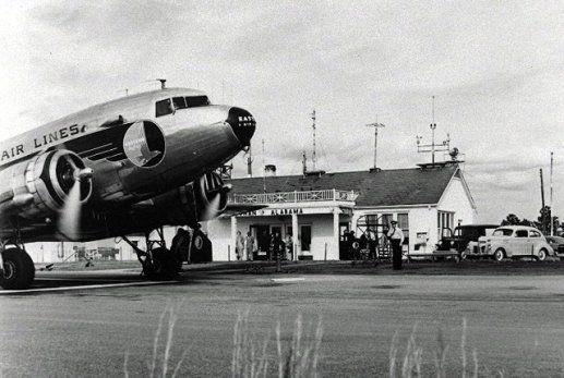 dothan alabama historic photos | dothan municipal airport 1945