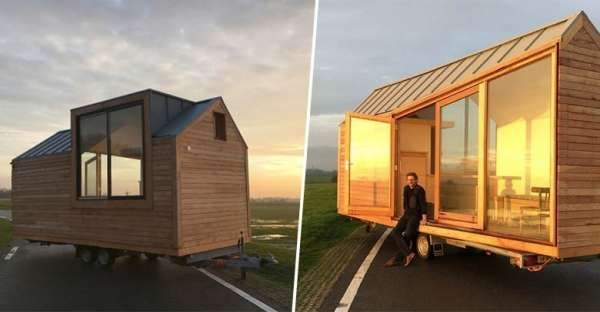 This Amazing Tiny House Is Legal In Europe Tiny House