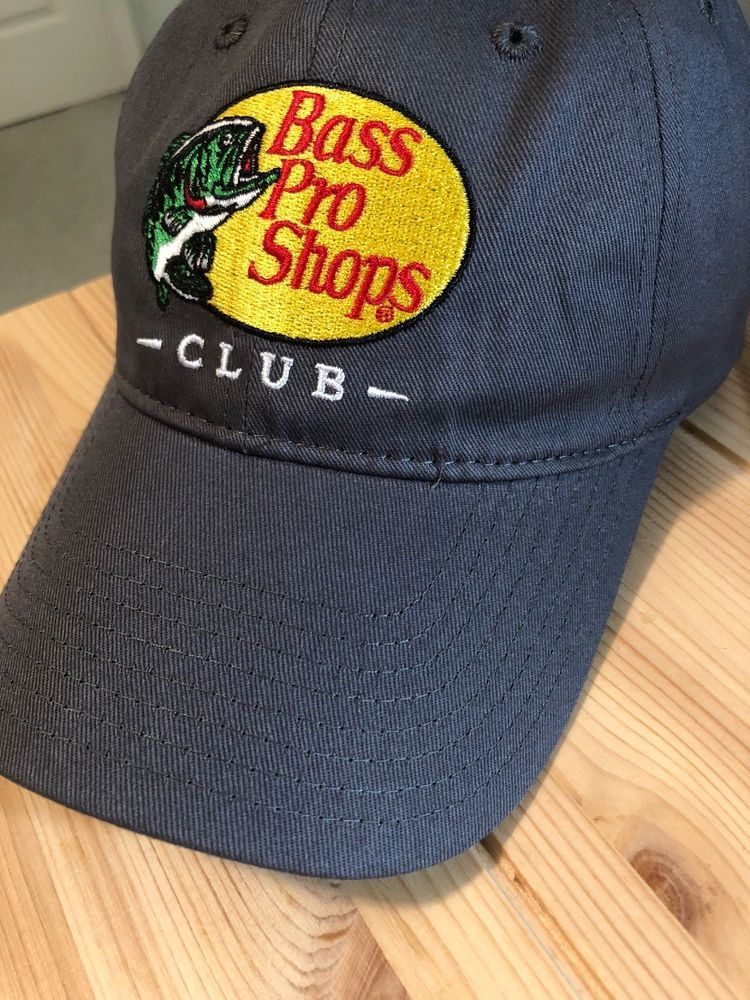 37978fa5d3a Bass Pro Shops Club Hat Ball Cap Gray Adjustable Back 100% Cotton  fashion   clothing  shoes  accessories  mensaccessories  hats (ebay link)