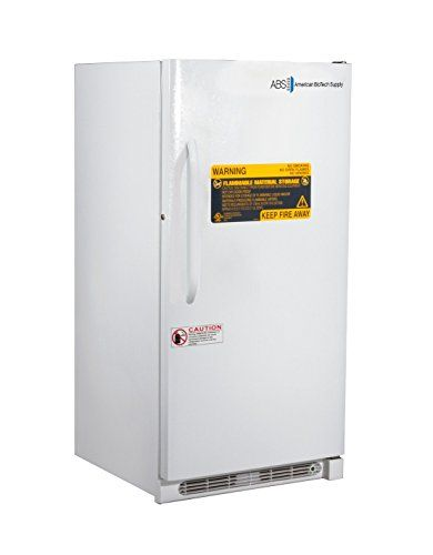 American BioTech Supply ABT-FRS-14 Standard Flammable Storage Refrigerator, 14 cu. ft. Capacity, White