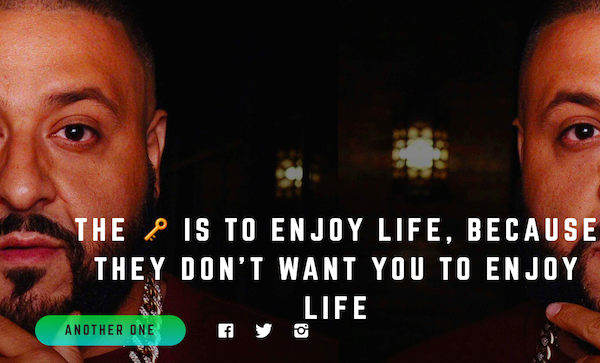 Dj Khaled Quotes Adorable This Site Has All Of Dj Khaled's Inspirational Quotes And It's . Design Ideas