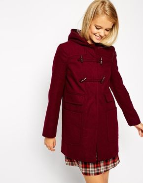 Enlarge ASOS Duffle Coat With Patch Pockets | Fashion: Wishlist ...