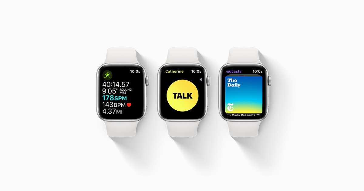 Watchos 5 Gives You New Workouts And Features To Help You Be More Active Along With More Intelligent Ways To Keep You Apple Watch Models Apple Watch