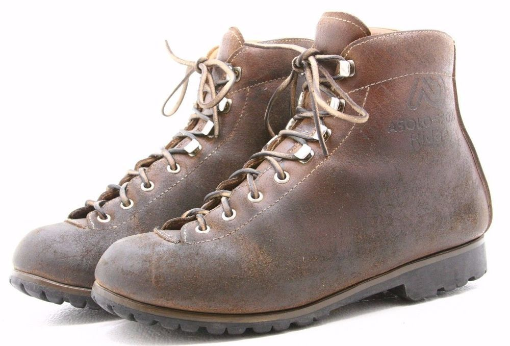 c52aaec7ba1 Asolo Sport Ridge Mens Mountaineering Boots size 7 Vintage Italy ...