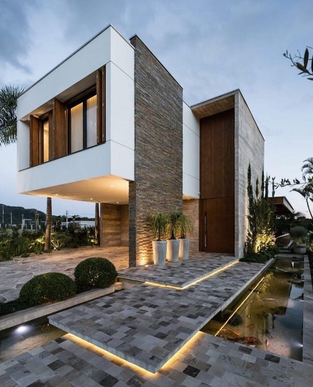 SI VOUS SOUHAITEZ    Façade maison, Maison d'architecture, Maison ...
