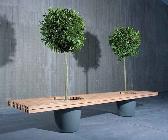 Romeo and Juliet Bench | wood | Pinterest | Jardins, Banc jardin and ...