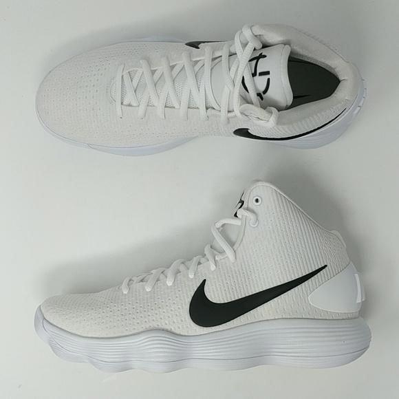 dd6100d42658 Nike Hyperdunk 2017 TB White Black 897808 100 Mens Basketball Shoes   mensbasketball