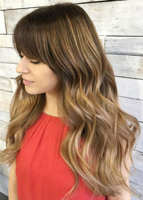 Long Hairstyles 2020 With Bangs Latest Ideas To Try Now Long Fringe Hairstyles Easy Hairstyles For Long Hair Long Haircuts With Bangs