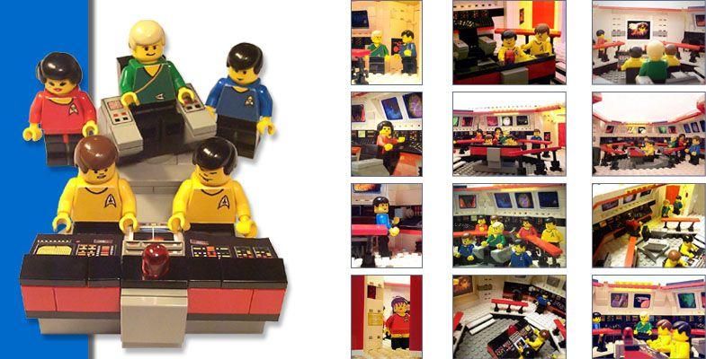 Lego Star Trek Dann Ist Diese Seite Was Fur Dich Enterprise Main