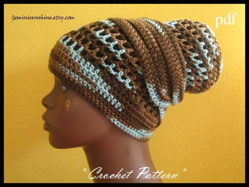 Gemini Sunshine Crochet Head Wrap Pattern Only - PDF - Permission to ...