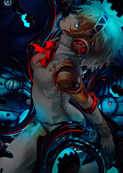 Aigis Shin Megami Tensei Persona by Daisukinahito