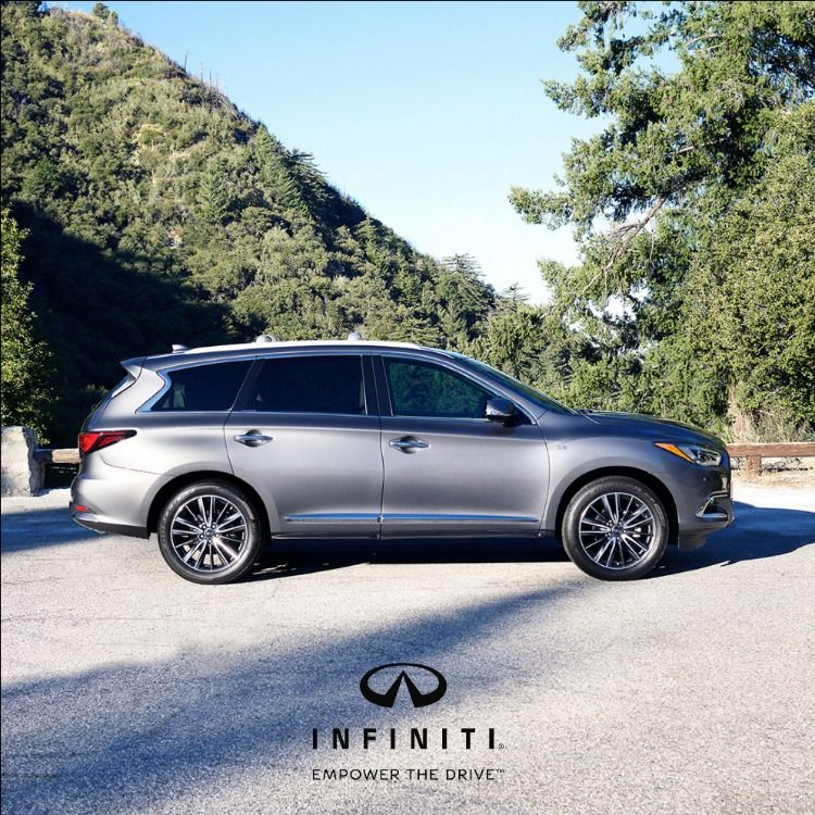 This Shadow Lights Up The Road. The 2019 #QX60 In